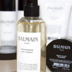 [Action Hair Boutique] BALMAIN HAIR PRODUCT @ ACTION#BalmainHairCouture bodifying sea salt offers flexible hold, adds texture, control and is humidity resistant. A fresh