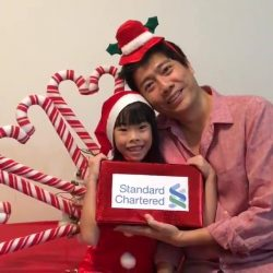 [Standard Chartered Bank] We hope you guys had a jolly good time this festive season because we certainly did! Our hearts are full