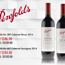 [The Oaks Cellars] Buy Now!Penfolds Bin 407 & Bin 389Exclusively Online For A Limited Time Only!http://www.oaks.com.sg/#theOaksCellars #
