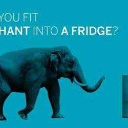 [Harvey Norman] How do you fit an elephant into a fridge? Submit your most creative answer over at American Express and stand