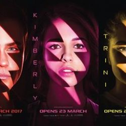 [Cathay Cineplexes] Guess what's coming up next? #GOGOPOWERRANGERSFive teenagers (Dacre Montgomery, Naomi Scott, RJ Cyler, Ludi Lin and Becky G)