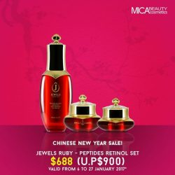 [MicaBeauty Cosmetics] Here's a festive deal for everyone as our way to share the Chinese New Year celebration! Get hold of