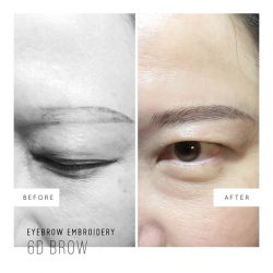[Milly's] Every stroke is carefully crafted to give you the ideal set of brows  ✨ Eyebrow Embroidery prices start from $299. . . . . . . . . . . . . . . . . . . . . . . . . . . . . . . . . . . Book