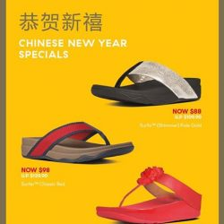[FitFlop] It's the 1st weekend of 2017, and 3 weeks to the #CNY Holidays! Check out our exclusive CNY Specials
