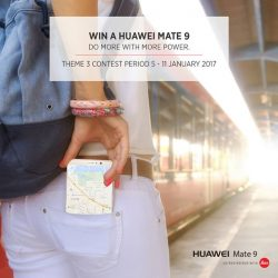 [HuaWei] Join us for our third and final theme! Win a #HuaweiMate9 for your on-the-go travel needs and do