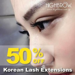 [Highbrow] The word is out. Lashing is therapeutic. 50% discount for first time customer. 💝Book your slots for February 2017💝