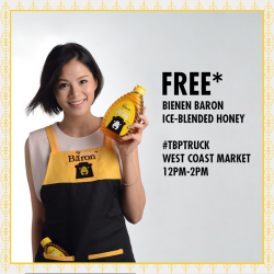 [Tiong Bahru Plaza] Join us from 12-2pm at West Coast Market tomorrow with Celebrity Tracy Lee at our #TBPTruck!Walk away with