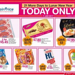 [NTUC FairPrice] We're counting down to the Lunar New Year with these One Day Specials! Pick from with chocolate, la mian,