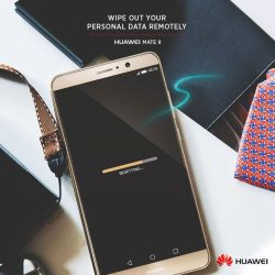 [HuaWei] Sometimes the inevitable happens and we lose our mobile phones. It is necessary to have the option to wipe away