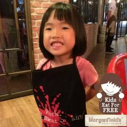 [Morganfield's] Did you know that kids eat for FREE on weekends & public holidays at the Home of Sticky Bones if they'