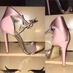 [Kandee] Alexa is beautifully crafted using patent leather,satin and velvet with a mirrored leather binding! Beyond CUTE 👀 Only £99.99
