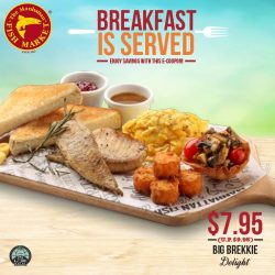 [The Manhattan FISH MARKET Singapore] Breakfast is served at The Manhattan FISH MARKET now! Reel in our delicious breakfast and save with these e-coupons!
