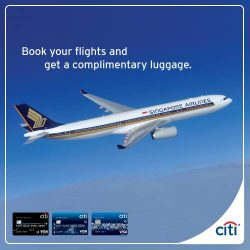 [Citibank ATM] Kick-start the new year with a memorable holiday with exciting fares to over 60 cities with Singapore Airlines. Plus,