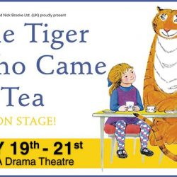 [SISTIC Singapore] Tickets for The Tiger Who Came To Tea go on sale on 16 Jan 2017. Get your tickets through SISTIC