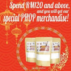 [Paddington House of Pancakes] Spend RM120 and above, and you will get our special PHOP merchandise for free! Only available at PHOP The Curve.