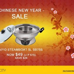 [Gain City] IT'S NOT TOO LATE to do some last minute shopping for cooking appliances ahead of CNY! Grab this Taiyo