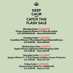 [Mobile Life] Need a new lightning cable for your iPhone? Catch our Flash Sale on original Apple Lightning Cable. First 10 customers