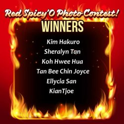 [Old Chang Kee Singapore] Congratulations to all these Red Hotties! You have won for yourself $20 Old Chang Kee vouchers each! Winners will be