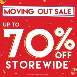 [Artbox Singapore] We are having a moving out sale at our Tampines Mall outlet (#03-18)! Starts today, 14 Jan 2017! *Excludes