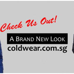 [ColdWear] We are glad to announce the launch of our new website! New features have been added for easy browsing and