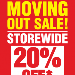 [CHOCSPOT] Choc Spot West Gate, #B1-05, is Moving Out! We Will Be Having A Storewide Moving Out Sale 20% Off,