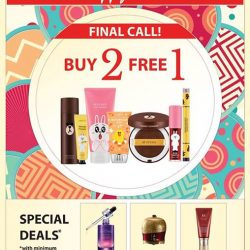 [Missha Singapore] Celebrate 2017 with Buy 2 Free 1 on MISSHA LINE FRIENDS Edition!This is the final call! Don't wait