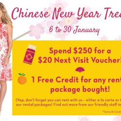 [Maternity Exchange] Enjoy our Chinese New Year Treats! From now till 30 January 2017.⠀🔸 Spend $250 for a $20 Next Visit Voucher!⠀ 🔸