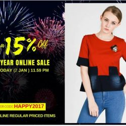 [MOSS] HURRY! NEW YEAR ONLINE SALE END SOON!Extra 15% Off New Year Sale end Today ( 2 Jan ) 11.59 pm