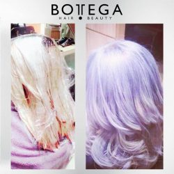 [BOTTEGA hair & beauty ] Have you always been a brunette but wonders what it's like to be a blonde? You've been dying