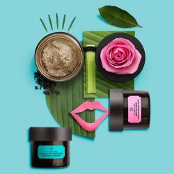 [The Body Shop Singapore] Vegan face masks? Yass! Our awesome Himalayan Charcoal and British Rose blends are 100% vegan – which is your favourite? #skingoals