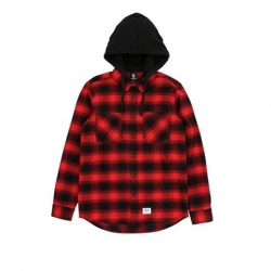 [Chocoolate --- i.t Labels Singapore] Plaid up with our Fingercroxx hoodie this festive season. Simply spend $150 and stand a chance to win up to $