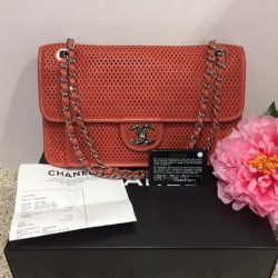 fa7db3a5506e  MADAM MILAN  Sneak Preview  FE Brand Model 🍊🍊Chanel A67652 Up In The Air  Perforated Flap Bag Price   2950 (RP  4180) Item Code