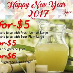 [CocoCane] New Year Promotion this week for some of our best sellers for sugarcane juice series! Our Lemon and Orange are