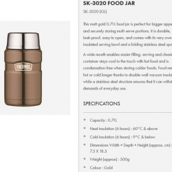 [Nichebabies] Finally a Bigger Capacity for big eaters?:) Here is what we have for u - Thermos SK-3020 Food Jar!**** ATTACHED