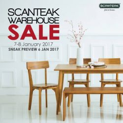 [Scanteak] Start the New Year by furbishing your home with some cosy Scandinavian furniture at DISCOUNTED PRICES! Quality does not have