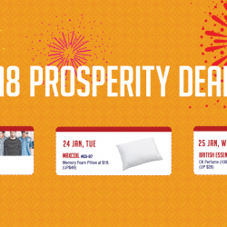 [Eastpoint Mall] Did you miss last week's deals? Here's you last chance to enjoy Eastpoint Mall's $18 Prosperity Deals!