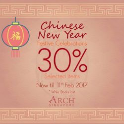 [ARCH] Selected Oriental designs now on 30% Discount! Now till 11th February