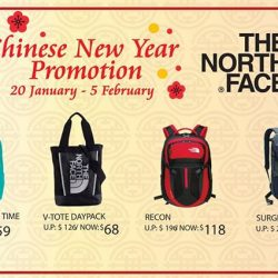 [The North Face] From now till 5 February, enjoy abundant savings on these The North Face prosperity buys!Receive complimentary Lai See red