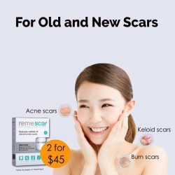[Watsons Singapore] Burdened by different scars? Remescar scar stick is an innovative medical device that helps to reduce the visibility of both