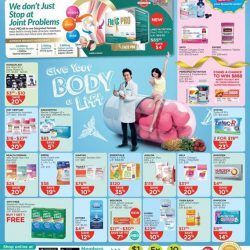 [Watsons Singapore] Enjoy amazing deals across participating brands like La Roche-Posay, Cure and more! On top of that, get 6% CASH