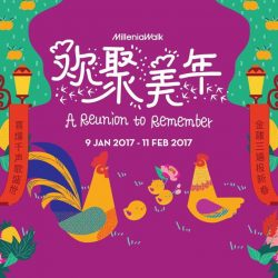 [Millenia Walk] This Lunar New Year, gather your flock at Millenia Walk to watch festivities take flight. At the dawn of a