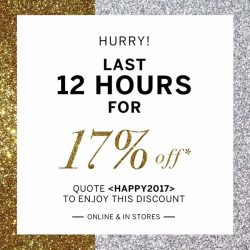 [The Closet Lover] We are down to the last 12 hours of our 17% sale! If you haven't shopped yet, hop on