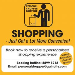 [Gain City] We are proud to announce the launch of the Gain City Personal Shopper Service! Unsure of what to get for