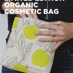 [Bud Cosmetics] Get a FREE Limited Edition Cosmetic Bag from Juice Beauty when you purchase 2 or more Juice Beauty from our