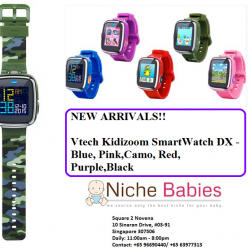 [Nichebabies] My gals 7 n 9 years old LOVE this LOTSSsss!!Introducing Vtech Kidizoom SmartWatch DX (2nd Generation) ( Available in Blue,