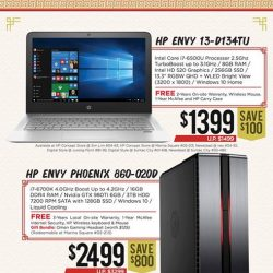 [Newstead Technologies] Start something new this Chinese New Year and save up to $800 for HP laptop and desktop!Available now at