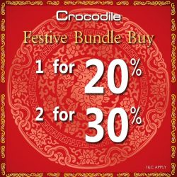 [Crocodile] Hey, guys! Here's great deal for those doing last-minute Chinese New Year shopping. Bundle buy great deals for