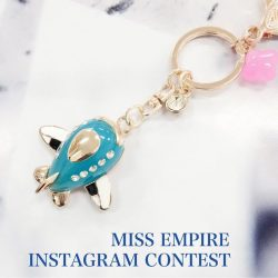 [Miss Empire] To kickstart 2017, we will be giving away a free bag charm worth $68 to one lucky winner on Instagram!