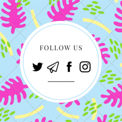[MADAM MILAN] Follow us on our social media to stay updated and to see what's in store and for sale!