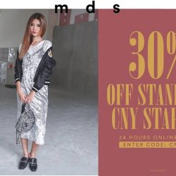 [MDSCollections] It's nearly CNY! Start your haul now with 30% off selected pieces. Use code [CNY30] 24 hours, online only.